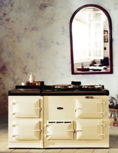 The (wonderful, beautiful) Aga stove. I NEED one