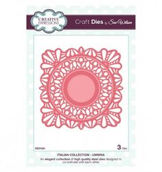 Craft Dies by Sue Wilson - Italian Collection - Umbria CED1504