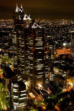 Tokyo Night, Japan: photo by Ballet Lausanne, via Flickr