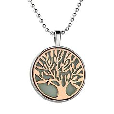 * Penny Deals * - MJARTORIA Tree of Life Glow In The Dark Pendant Necklace (Red Bronze) *** Continue to the product at the image link.