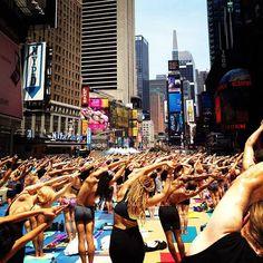 Yoga en las ciudades