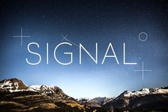 SIGNAL: SALE -33% off by Etewut on @creativemarket