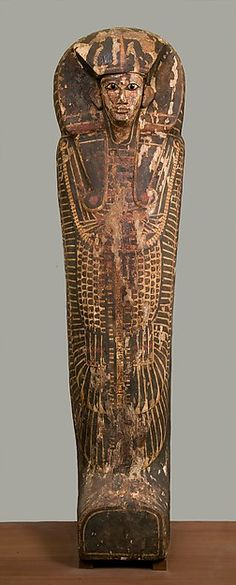 Rishi Coffin Period: New Kingdom Dynasty: Dynasty 18 Date: ca. 1550–1295 B.C. Geography: From Egypt, Upper Egypt; Thebes, el-Asasif, Temple of Hatshepsut, Carnarvon/Carter excavations