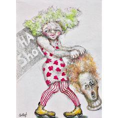 """Ink & watercolour / Encre et aquarelle - 12"""" x 9"""" / 30.5 x 23 cm X 23, It Works, Paper, Art, Ink, Watercolor Painting, Kunst, Nailed It, Art Education"""