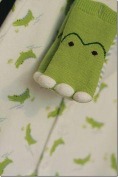SO CUTE. baby alligator set for boy