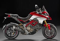 Ducati honors 100 years of the Pikes Peak International Hill Climb with 400 replica kits available for the 2016 Multistrada 1200.