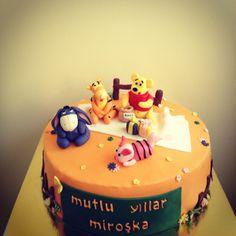 Winnie The Pooh Pasta - Winnie The Pooh Birthday Cake