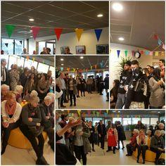 Drukbezochte opening en nieuwjaarsreceptie in het nieuwe buurtcentrum De Dreef.