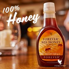 Forever Bee Honey contains only natural ingredients. This great-tasting, nutritious sweetener is loaded with nature's goodness, containing approximately 70 calories per tablespoon. Visit our website to see more products - link in bio Aloe Vera Gel Forever, Forever Living Aloe Vera, Forever Aloe, Honey Bee Pollen, Aloe Heat Lotion, Forever Living Business, Nutrition, Natural Honey, Forever Living Products