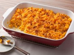 Get this: This macaroni with four cheeses is pretty healthy. The secret is pureed winter squash to lighten the cheese and add flavor.