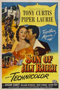 Son of Ali Baba (1952) Stars: Tony Curtis, Piper Laurie, Susan Cabot, Morris…