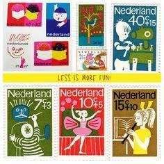 dutch stamp designs