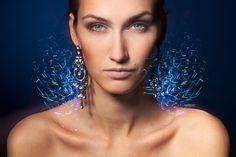 Close-up portrait of female by Pavel Kolotenko on 500px