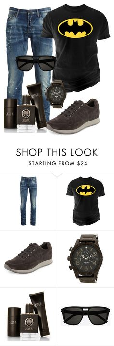 """""""100%mens"""" by alice-fortuna ❤ liked on Polyvore featuring PRPS, Changes, Vince, Nixon, Vince Camuto, Yves Saint Laurent, men's fashion and menswear"""