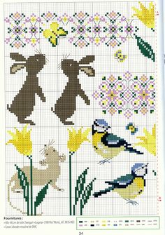 Designing Your Own Cross Stitch Embroidery Patterns - Embroidery Patterns Just Cross Stitch, Cross Stitch Borders, Cross Stitch Animals, Cross Stitch Charts, Cross Stitch Designs, Cross Stitching, Cross Stitch Embroidery, Embroidery Patterns, Cross Stitch Patterns