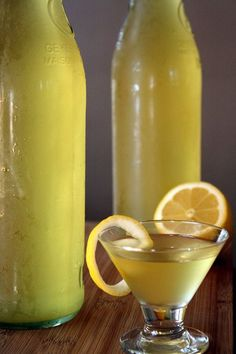 Homemade Limoncello | The Marvelous Misadventures of a Foodie