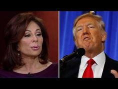 Judge Jeanine: I've never seen a president treated this way - YouTube