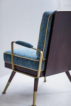 Bert Frank mid century inspired armchair.