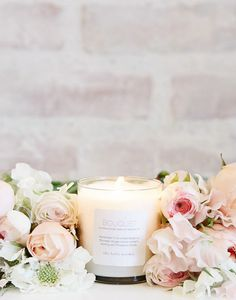Bouquet Soy Blend Prosperity Candle for The Little Market