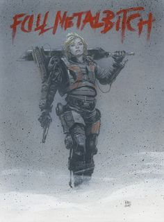 Edge of Tomorrow - Rita Vrataski by Travis Charest *