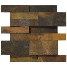 Mosarte - Revestimentos Especiais - Coleção Kaleidos - Telado - Pedra Ferro…