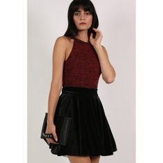 Pilot Velvet Skater Skirt (2,160 INR) ❤ liked on Polyvore featuring skirts, black, circle skirt, skater skirts, straight skirt, velvet skater skirt and velvet skirt