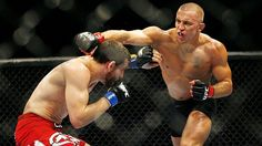 "UFC Welterweight Champ George ""Rush"" St. Pierre"