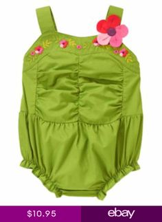 Gymboree kids clothing celebrates the joy of childhood. Shop our wide selection of high quality baby clothes, toddler clothing and kids apparel. Toddler Girl Romper, Gerber Baby, Boy Onesie, Outfits With Hats, Girls Rompers, Baby Boy Newborn, Gymboree, Simple Dresses, 3 D