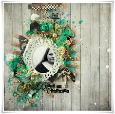 Layout made as DT Scrapki-Wyzwaniowo. Made with 7dots Studio products!