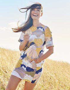 Easy Linen Tunic Dress