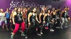 Tara Romano Dance Fitness - Wisin -Vacaciones - YouTube