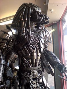 Steampunk Predator... I mean why not? We're doing Star Wars too, right? Now lets find Steampunk Borg... that'll be interesting.