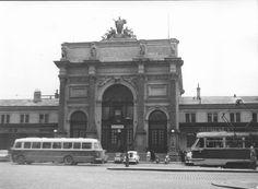 Vstupní portál nádraží Těšnov-Praha