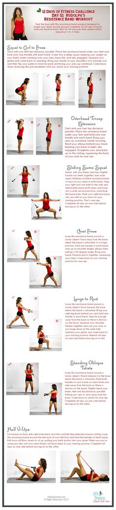 This circuit workout sculpts your muscles from head-to-toe. Grab a resistance band and give it all you've got!