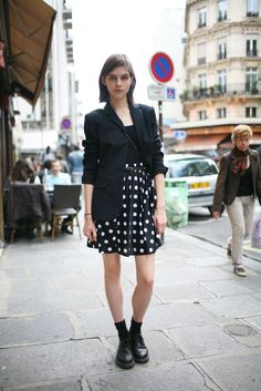 They Are Wearing: Paris Fashion Week | Fall 2012 | via women wear daily