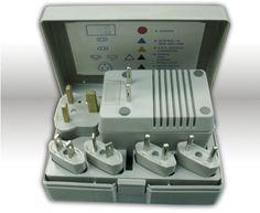 World Travel Voltage Converter Adapter Kit 50-1600 Watt $13.62