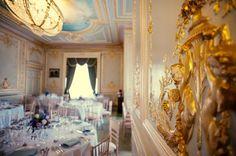 The Salon wedding breakfast, Fetcham Park Wedding, Surrey Wedding Venue
