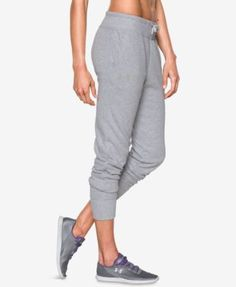 UNDER ARMOUR Under Armour French Terry Jogger Pants. #underarmour #cloth # pants