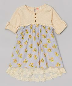 Look at this Tigerlily Floral Field Dress - Girls on #zulily today!