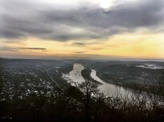 Walking around Bonn Amazing view from the hill