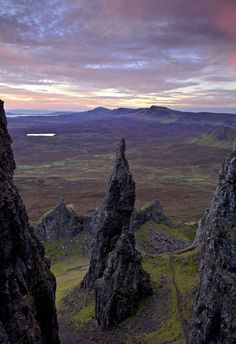 British Isles: Photograph Needle, Prison, and Ridge by Marcus McAdam on Isle of Skye, Scotland Oh The Places You'll Go, Places To Travel, Places To Visit, Beautiful World, Beautiful Places, Scotland Travel, Scotland Uk, Belle Photo, Beautiful Landscapes