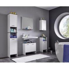 Badezimmer von XORA Badezimmer, Badezimmer hochschrank