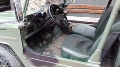 VW Bombardier Iltis Cockpit mit Lenkrad VW Golf II GTD , forst61@interia.pl