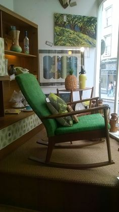 Scandart Rocking Chair Rocking chairs Vintage rocking chair and