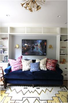 #Willoughby #Sofa #Anthropologie Image Via: Design*Sponge
