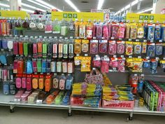 At a local supermarket in Yokohama (Aeon). They carry the same kind of stuff as LOFT, but just one aisle of it as opposed to several.