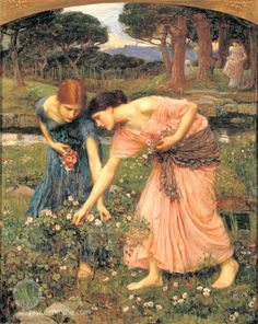 John William Waterhouse Gather ye rosebuds while ye may I painting for sale, this painting is available as handmade reproduction. Shop for John William Waterhouse Gather ye rosebuds while ye may I painting and frame at a discount of off. John William Waterhouse, Art Romantique, Pre Raphaelite Paintings, Pre Raphaelite Brotherhood, John Everett Millais, Carpe Diem, Rose Buds, Oeuvre D'art, Art History