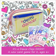 Dance Class Games, Line Game, Two Player Games, Ballet Class, Ballet Girls, Games For Girls, Family Games, Card Games, Dancer