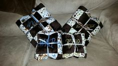 Minky baby blankets made to order