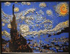 Isso é legal do dia: Exposição de obras de arte famosas recriadas com Lego